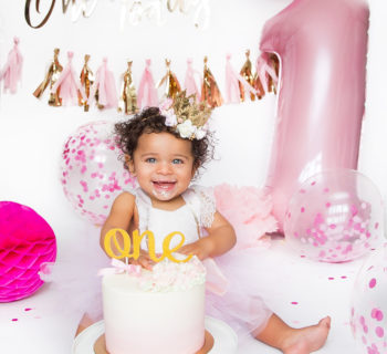 Avéya's first birthday party